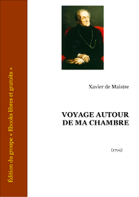 Livre numrique Voyage autour de ma chambre