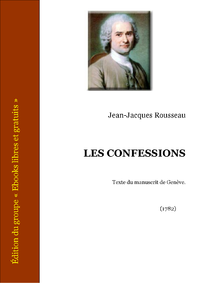 Livre numrique Les Confessions