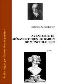 Livre numrique Aventures et msaventures du baron de Mnchhausen