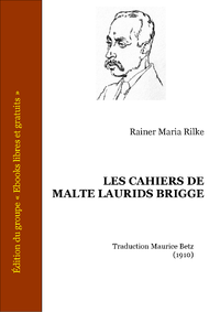 Livre numrique Les Cahiers de Malte Laurids Brigge