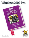 Livre numérique Windows 2000 Pro: The Missing Manual