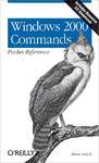 Livre numérique Windows 2000 Commands Pocket Reference