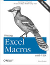 Livre numrique Writing Excel Macros with VBA