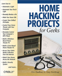 Livre numrique Home Hacking Projects for Geeks