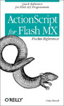 Livre numérique ActionScript for Flash MX Pocket Reference