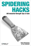 Livre numrique Spidering Hacks