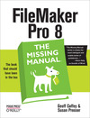 Livre numérique FileMaker Pro 8: The Missing Manual