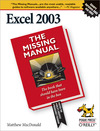 Livre numérique Excel 2003: The Missing Manual