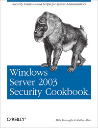 Livre numrique Windows Server 2003 Security Cookbook