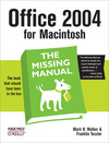 Livre numrique Office 2004 for Macintosh: The Missing Manual