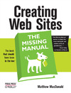 Livre numrique Creating Web Sites: The Missing Manual