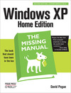 Livre numrique Windows XP Home Edition: The Missing Manual