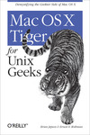 Livre numrique Mac OS X Tiger for Unix Geeks