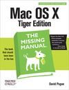 Livre numérique Mac OS X: The Missing Manual