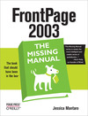 Livre numrique FrontPage 2003: The Missing Manual