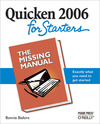 Livre numérique Quicken 2006 for Starters: The Missing Manual