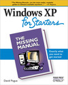 Livre numérique Windows XP for Starters: The Missing Manual