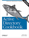 Livre numrique Active Directory Cookbook