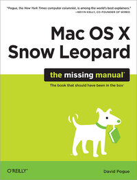 Livre numérique Mac OS X Snow Leopard: The Missing Manual