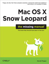 Livre numrique Mac OS X Snow Leopard: The Missing Manual