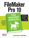Livre numrique FileMaker Pro 10: The Missing Manual