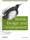 Livre numrique Mobile Design and Development