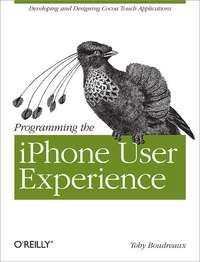 Livre numérique Programming the iPhone User Experience