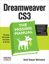 Livre numérique Dreamweaver CS3: The Missing Manual