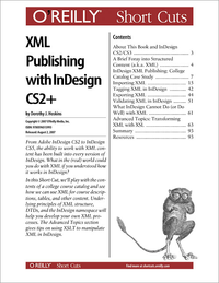 Livre numrique XML Publishing with InDesign CS2+