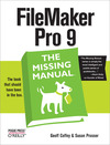 Livre numrique FileMaker Pro 9: The Missing Manual
