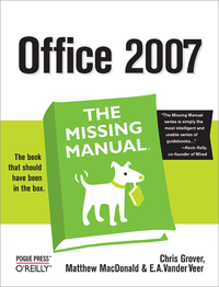 Livre numérique Office 2007: The Missing Manual
