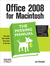Livre numérique Office 2008 for Macintosh: The Missing Manual