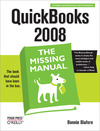 Livre numérique QuickBooks 2008: The Missing Manual