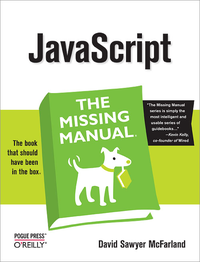 Livre numérique JavaScript: The Missing Manual