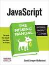 Livre numrique JavaScript: The Missing Manual
