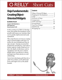 Livre numrique Dojo Fundamentals: Creating Object-Oriented Widgets