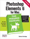 Livre numérique Photoshop Elements 6 for Mac: The Missing Manual