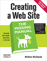 Livre numérique Creating a Web Site: The Missing Manual