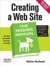 Livre numrique Creating a Web Site: The Missing Manual