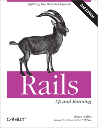 Livre numrique Rails: Up and Running