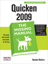 Livre numrique Quicken 2009: The Missing Manual