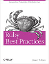 Livre numrique Ruby Best Practices