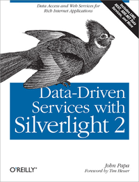 Livre numérique Data-Driven Services with Silverlight 2