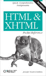 Livre numrique HTML and XHTML Pocket Reference