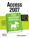 Livre numérique Access 2007: The Missing Manual