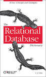 Livre numérique The Relational Database Dictionary