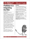 Livre numrique FileMaker 8.5: Integrating the Web