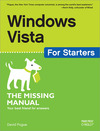 Livre numérique Windows Vista for Starters: The Missing Manual