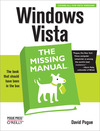 Livre numrique Windows Vista: The Missing Manual