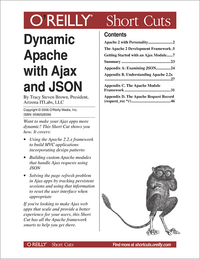 Livre numérique Dynamic Apache with Ajax and JSON